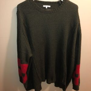 Sweaters - Olive green sweater from These Three boutique